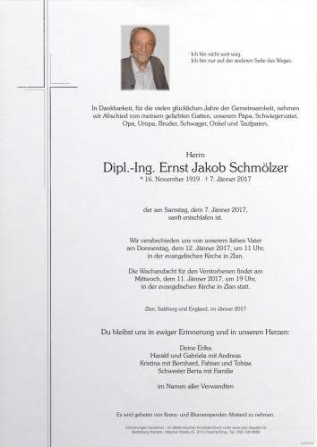 Dipl.-Ing. Ernst Jakob Schmölzer