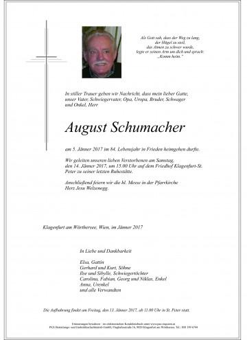 August Schumacher