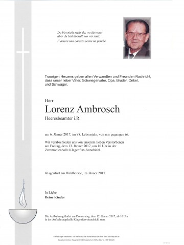 Lorenz Ambrosch
