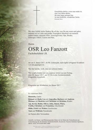 OSR Leo Fanzott