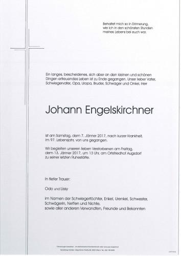 Johann Engelskirchner