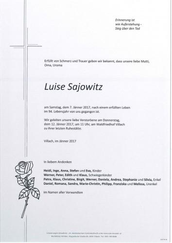Luise Sajowitz