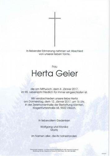 Herta Geier