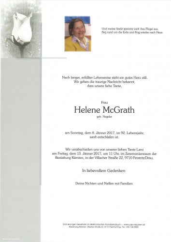 Helene McGrath