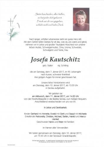 Josefa Kautschitz