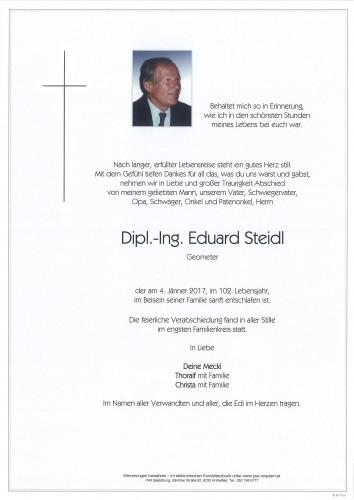 Dipl.-Ing. Eduard Steidl