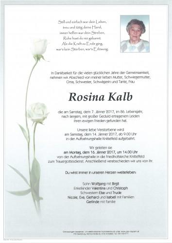 Rosina Kalb