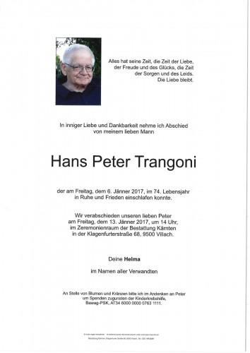 Hans Peter Trangoni
