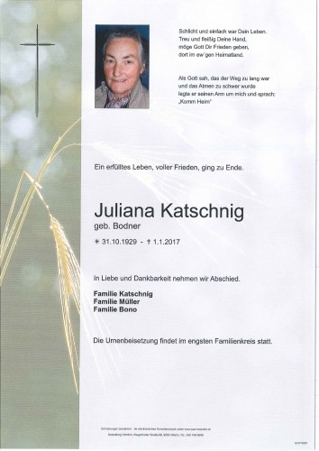 Juliana Katschnig