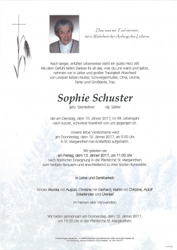Sophie Schuster