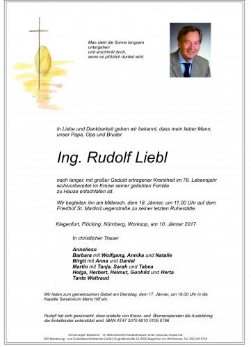 Ing. Rudolf Liebl