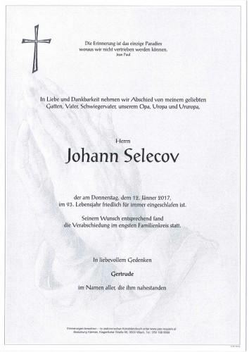 Johann Selecov