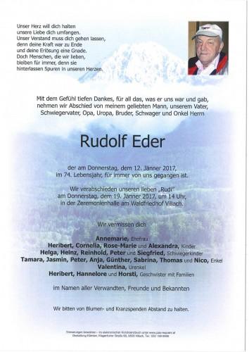 Rudolf Eder