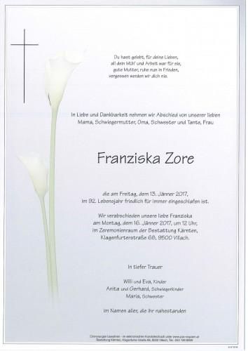 Franziska Zore