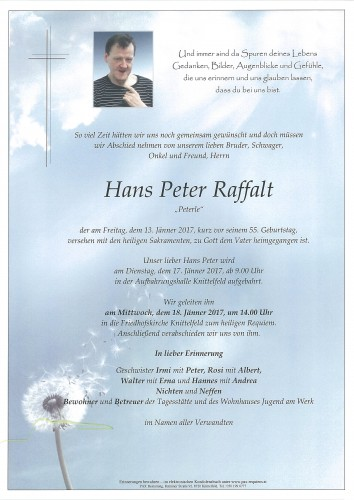 Hans Peter Raffalt