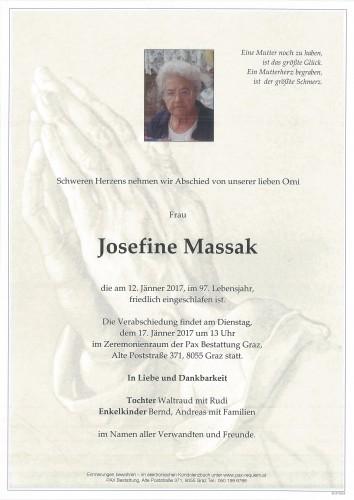 Josefine Massak