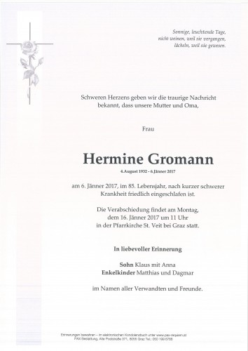 Hermine Gromann