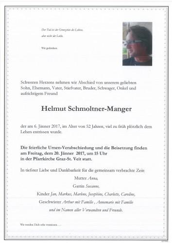 Helmut Schmoltner-Manger