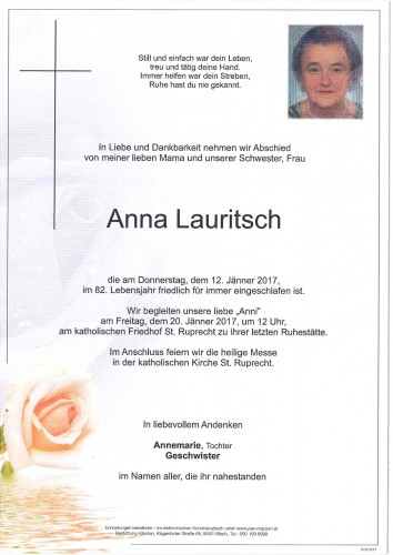 Anna Lauritsch