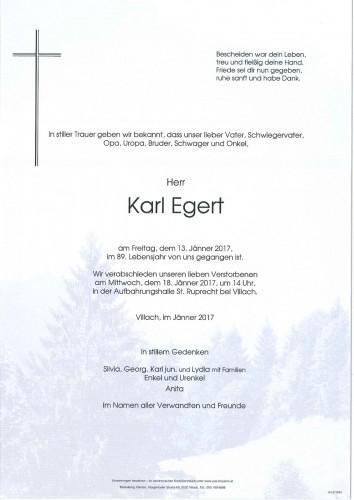 Karl Egert