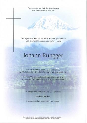 Johann Rungger