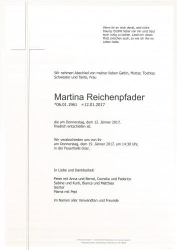 Martina Reichenpfader