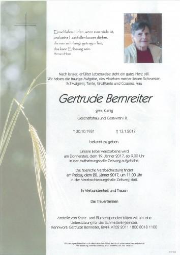 Gertrude Bernreiter