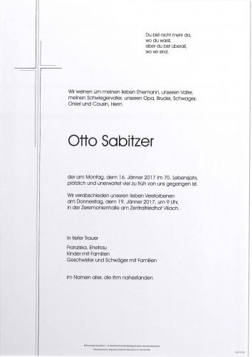 Otto Sabitzer