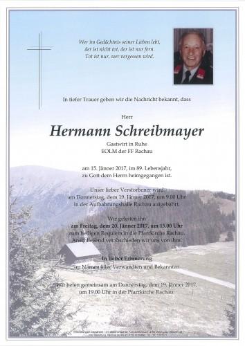 Hermann Schreibmayer