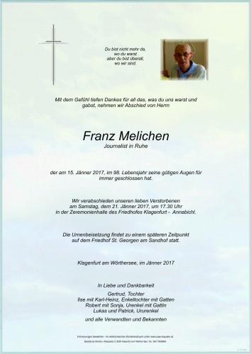 Franz Melichen