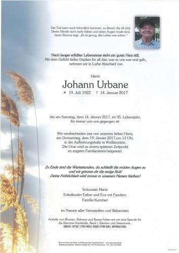 Johann Urbane
