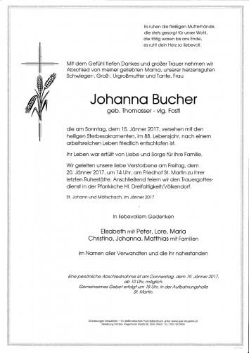 Johanna Bucher