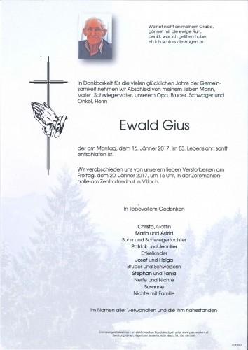 Ewald Gius