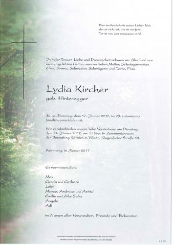Lydia Kircher