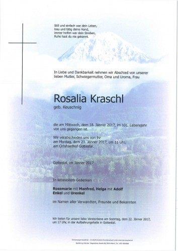 Rosalia Kraschl