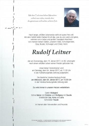 Rudolf Leitner
