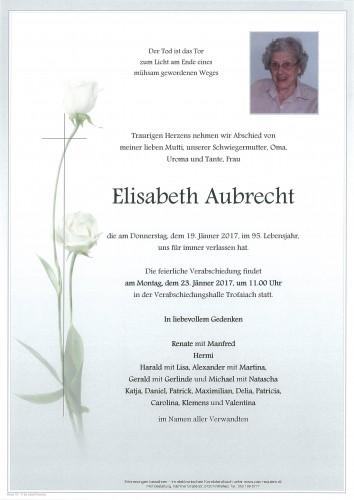Elisabeth Aubrecht