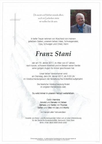 Franz Stani