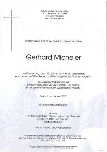 Gerhard Micheler
