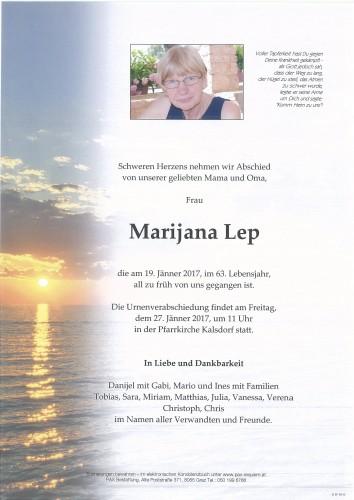 Marijana Lep