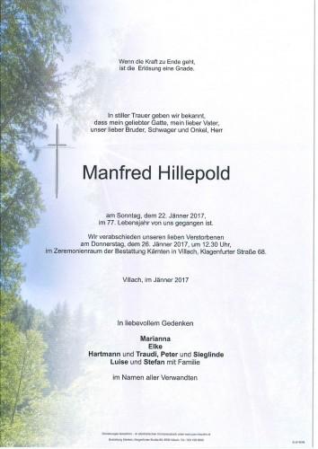 Manfred Hillepold