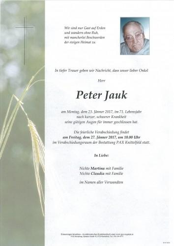 Peter Jauk
