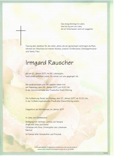 Irmgard Rauscher