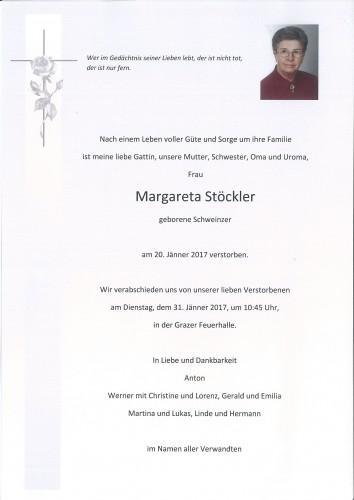 Margareta Stöckler