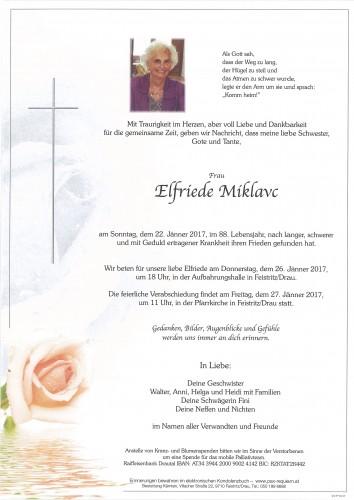 Elfriede Miklavc