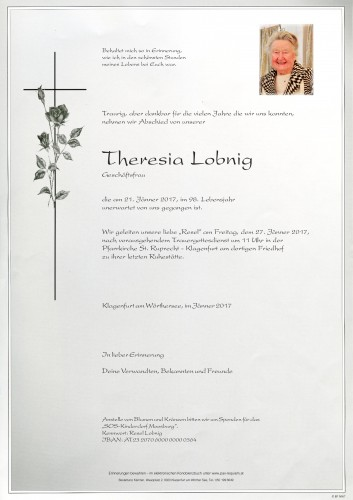 Theresia Lobnig
