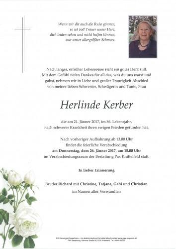 Herlinde Kerber