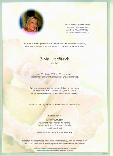 Silvia Kropfitsch