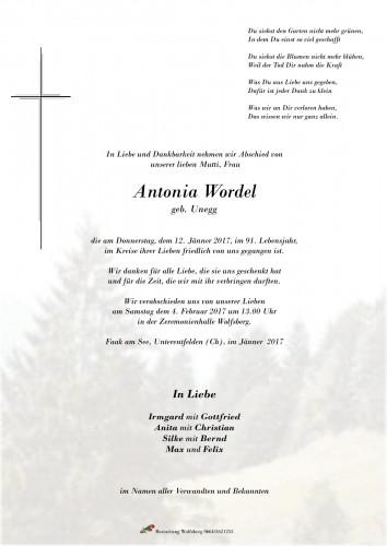 Antonia Wordel