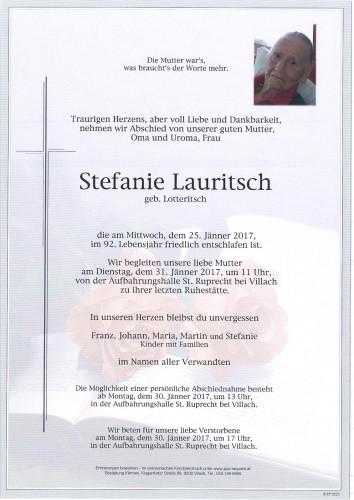 Stefanie Lauritsch